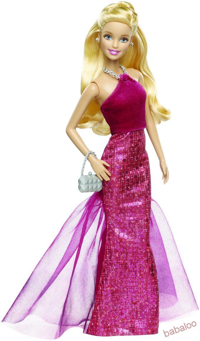 Barbie - Večerné šaty f7d36a02116