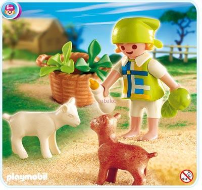 Playmobil 4674 - dievčatko s kozliatkami