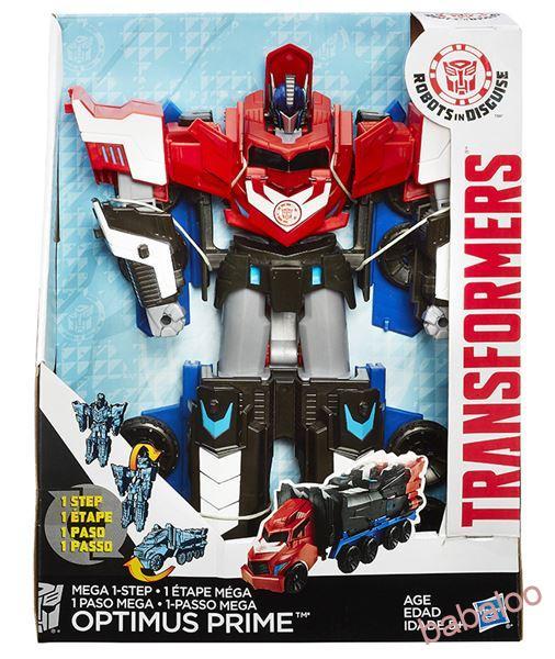 82e1bcf603 Transformers - TRANSFORMÁCIA V 1 KROKU MEGA OPTIMUS PRIME