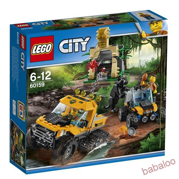 LEGO® CITY 60159 - Obrnený transportér do džungle