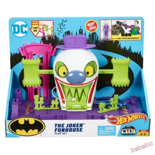 Mattel Hot Wheels DC zloduch z Gotham city