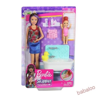 Barbie - Pestúnka herný set asst.