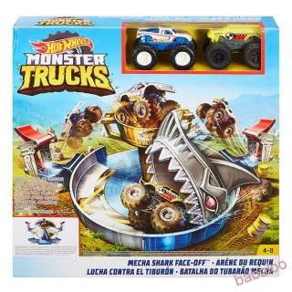 Mattel Hot Wheels  Monster Trucks žraločí útok