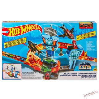 Mattel Hot Wheels CITY TRYSKÁČ NA LETISKU