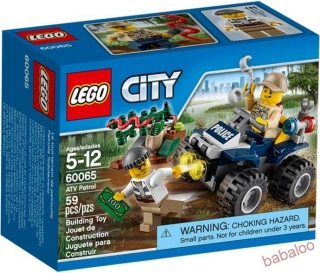 LEGO® CITY 60065 - Hliadka ATV