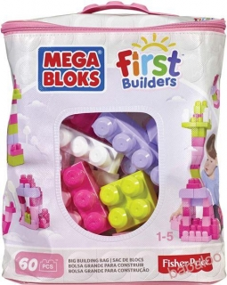 Mega Bloks - Big building bag girls  (60)
