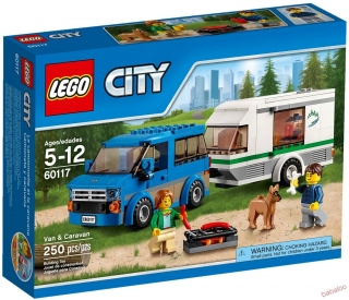 LEGO® CITY Great Vehicles 60117 - Dodávka a karavan