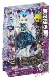 Mattel Monster High™ Monsterka s doplnkami do fotokútiku  Frankie Stein