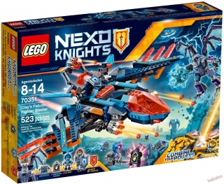 LEGO® Nexo Knights™ 70351 - Clayové lietadlo Falcon Fighter Blaster