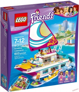LEGO® Friends 41317 - Katamarán Sunshine