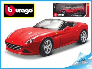 Bburago 1:18 Ferrari Race & Play California T (open top)