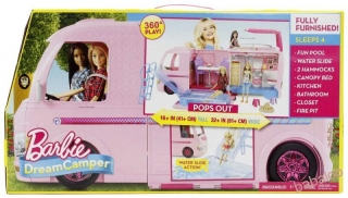 Barbie - Dream camper karavan snov