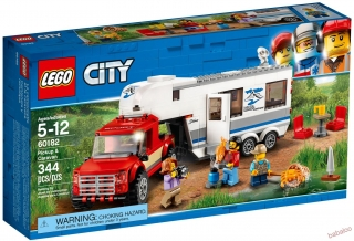 LEGO® CITY 60182- Pick-up a karavan